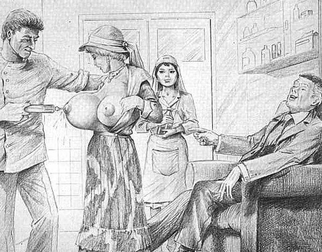 Farrell bondage drawings