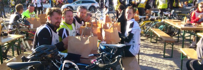 Frukost efter Sthlm Bike