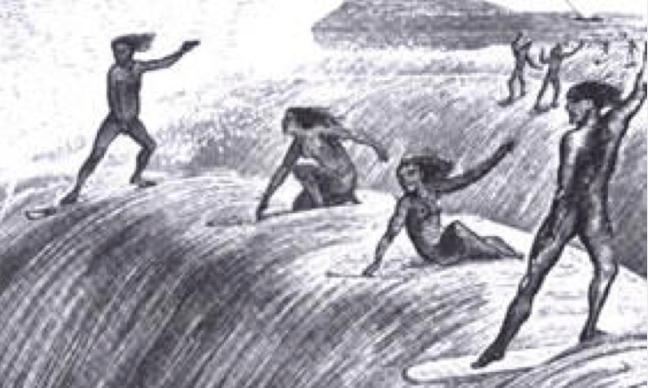 history of surfing and the first actual surfboarders But the real action was in the water, where tubesteak and other  they were  joined by famous early surfers like blue-eyed bill jensen, the.