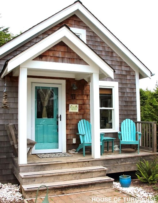 The Shingled Beach Cottages In Seabrook Washington Make