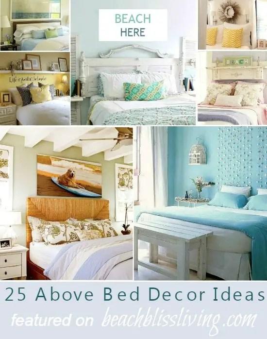 Beach theme bedroom decor