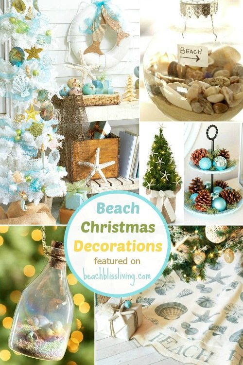 Beach Christmas Decorations Amp Ideas Inspired By Sea Sand