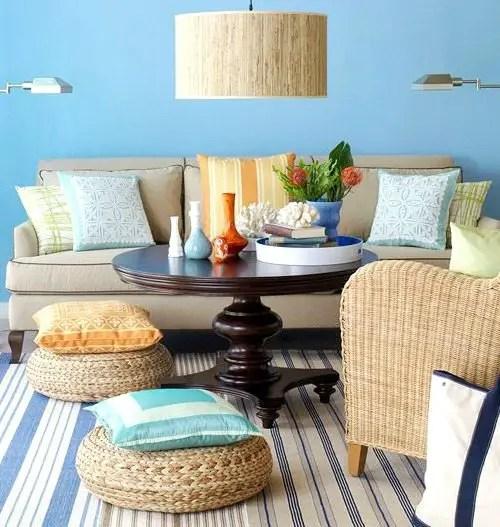 Decoration Chambre Adulte Couleur Lin : Floor Pillows & Poufs  Beach Bliss Living  Decorating