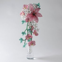 French Beaded Cascade Bouquet Kit, Katie Dean, Beadflowers
