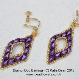 DiamonDuo earrings
