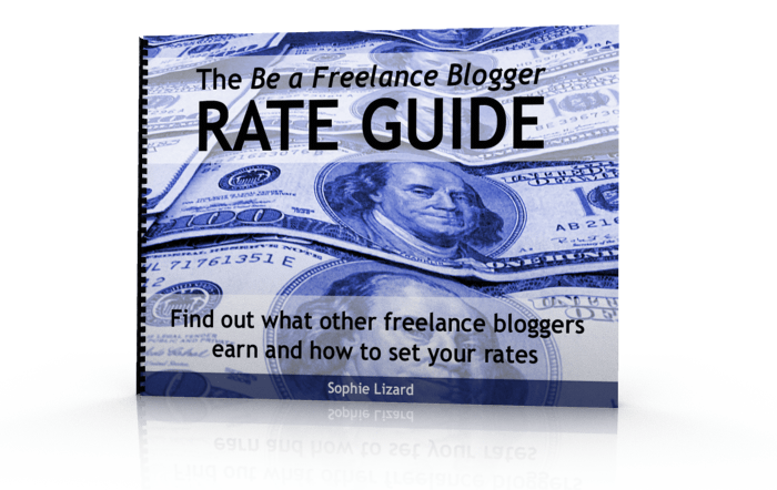 The Be a Freelance Blogger Rate Guide