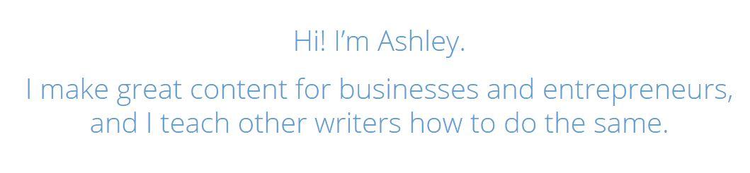 ashley gainer website