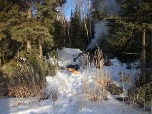 tent canoe