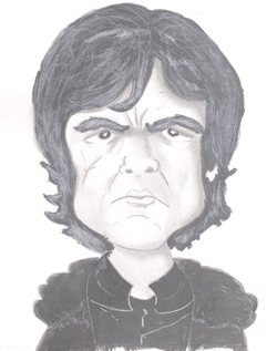 Bearman-Cartoons-Tyrion-Lannister Grayscale