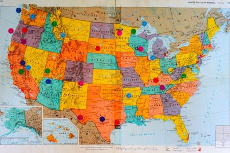 National Parks National Parks Map Parents And Country The - Map of national parks in united states