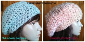 Kathy's Slouchy Hat collage watermark