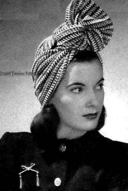 vintage-striped-turban-crochet-pattern