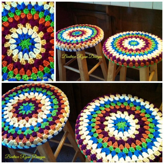 Granny Mandala Collage