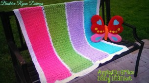 Amazing Grace Baby Blanket