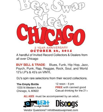 BEAT SWAP MEET CHICAGO:  2 YEAR ANNIVERSARY