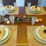 Holiday Craftacular – Elegant Fall Tablescape