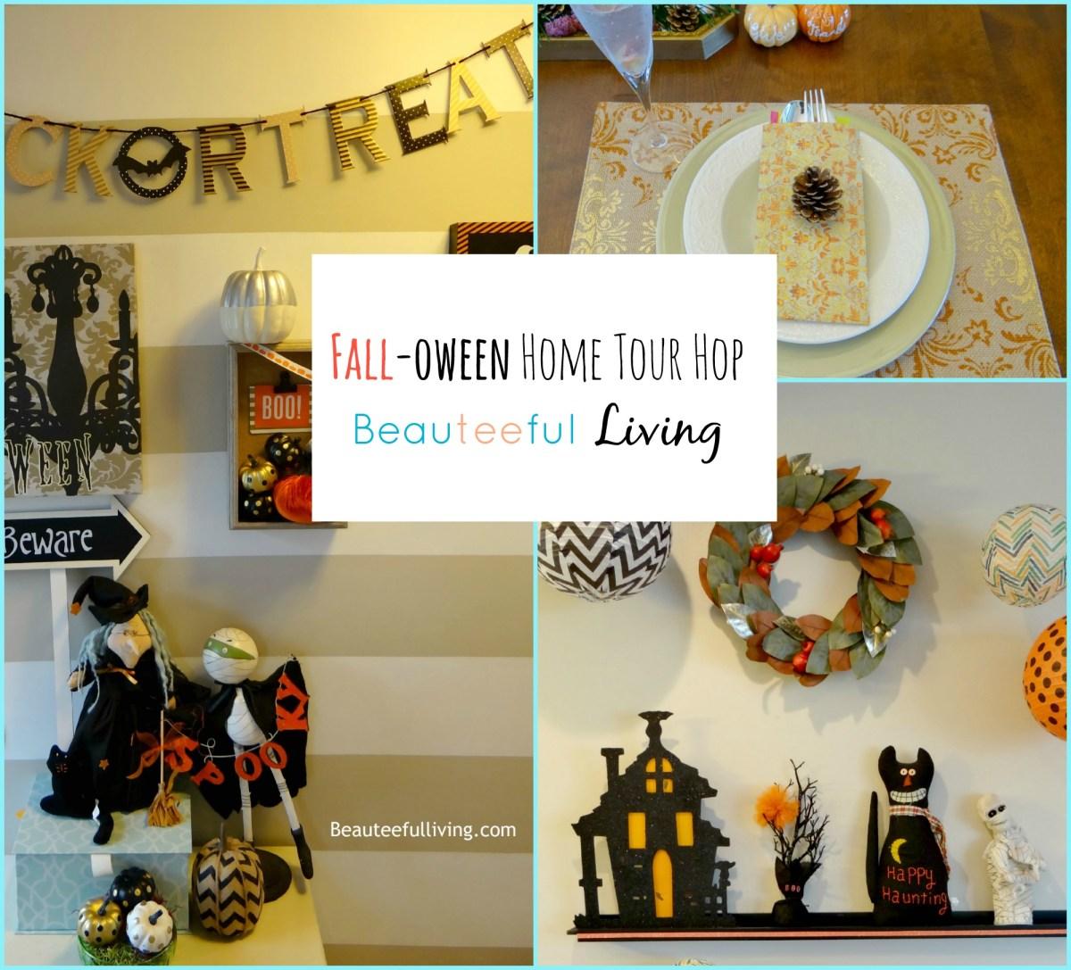 Fall-oween Home Tour - Beauteeful Living