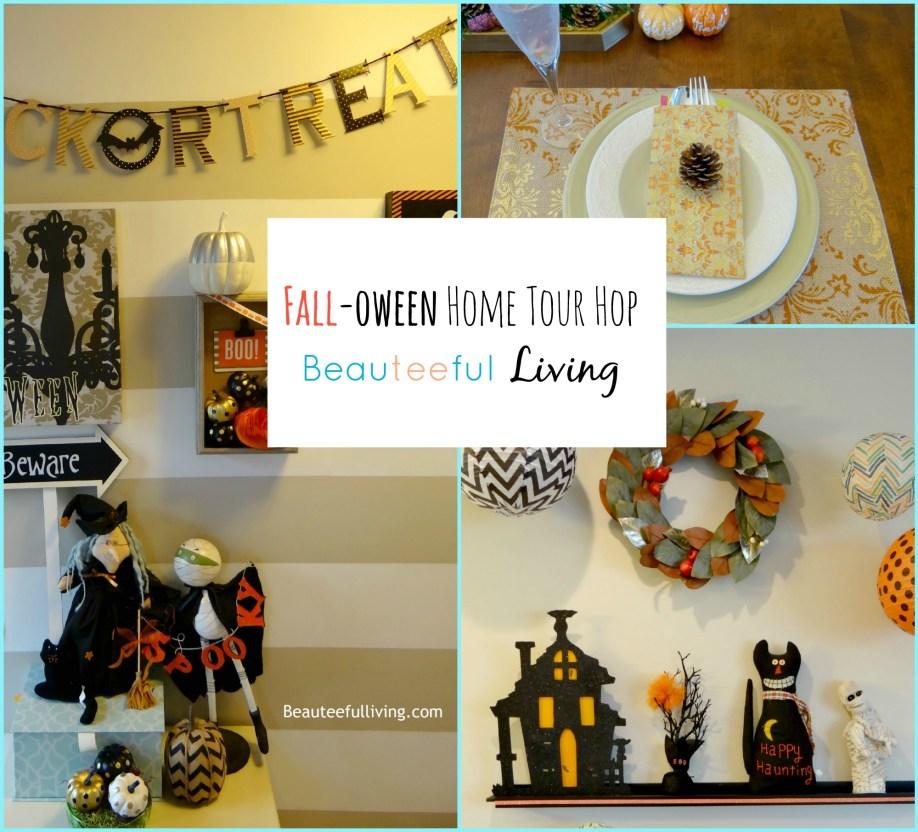 Falloween Home Tour1 - Beauteeful Living