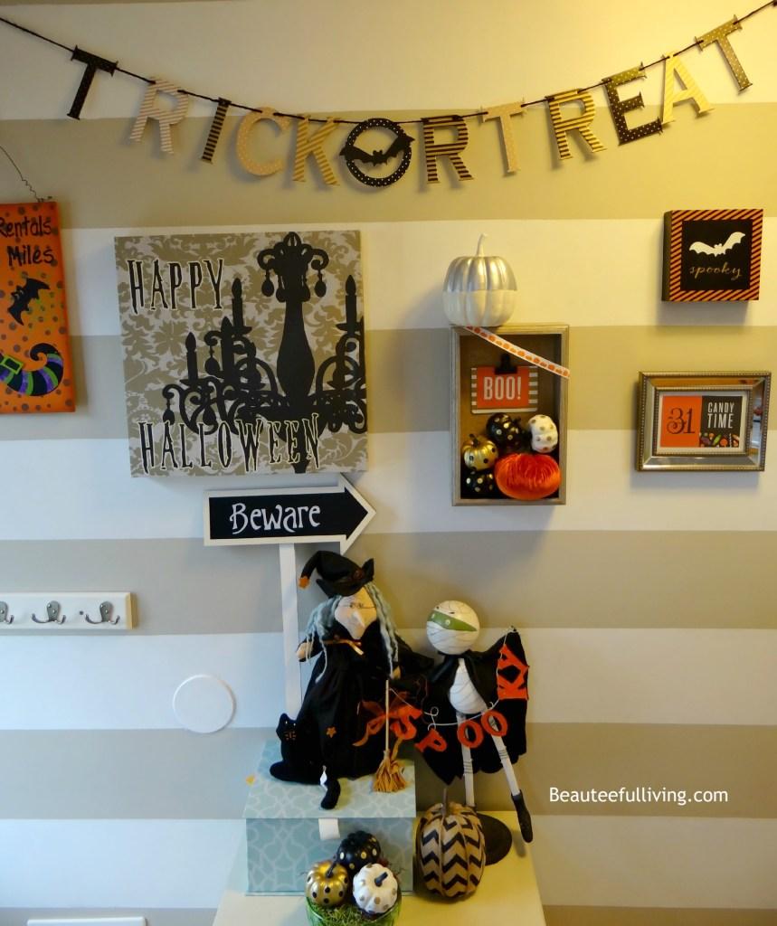 Halloween Gallery Wall2 - Beauteeful Living