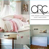 One Room Challenge - Week 1 - Girls Room Before