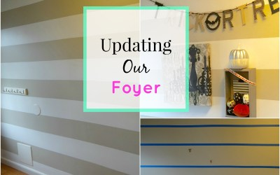 Updating Our Foyer