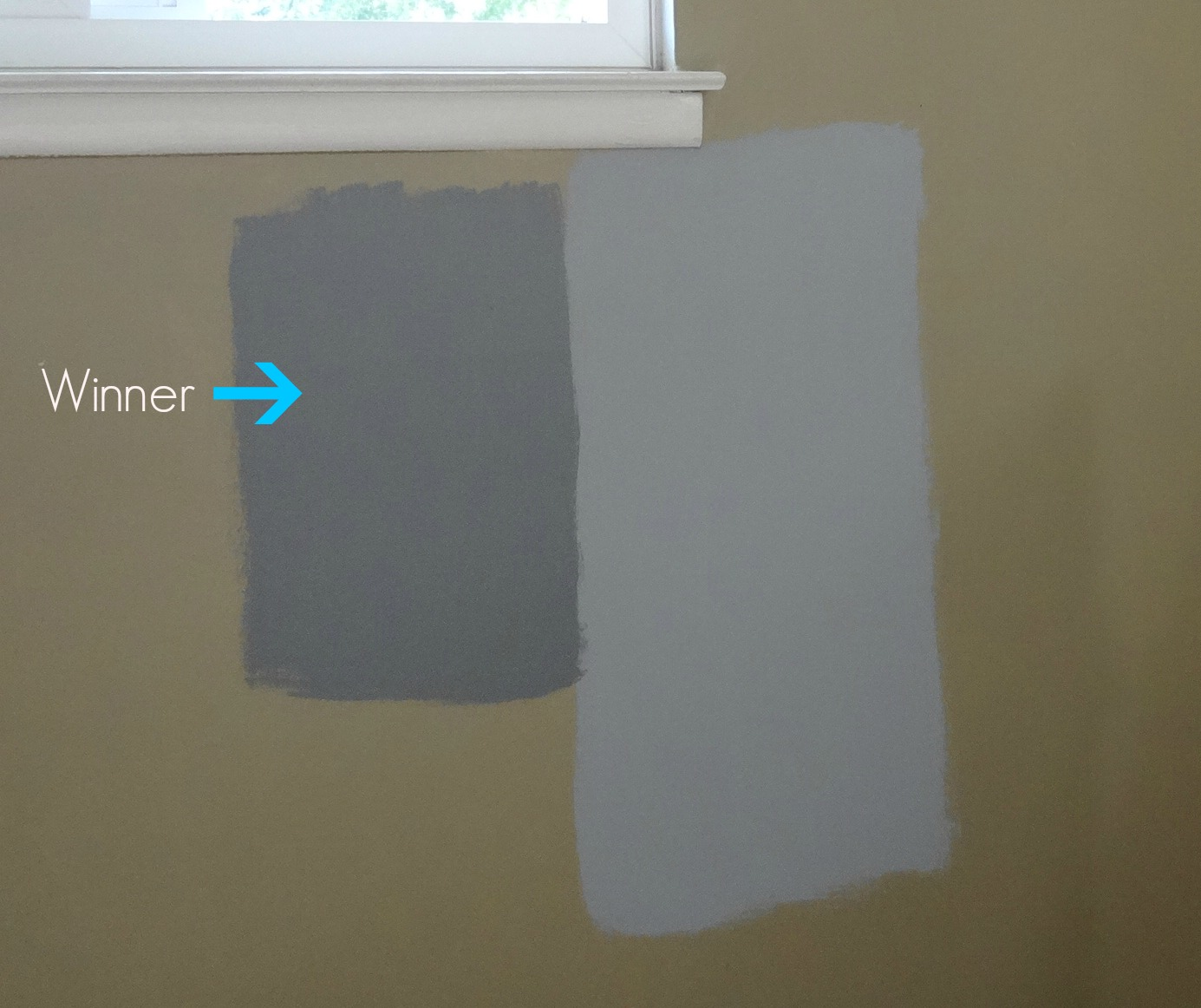 Grey Paint Color Samples