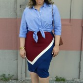 KNOTTED SHIRTS AND GRAPHIC SKIRTS