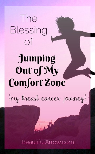 My Breast Cancer Journey - It was a blessing to be able to JUMP out of my comfort zone!
