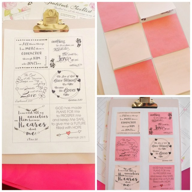 free sticky note printable - God Loves Me Quotes