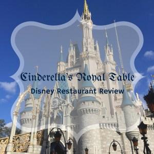Cinderella's Royal Table - Disney Restaurant Review