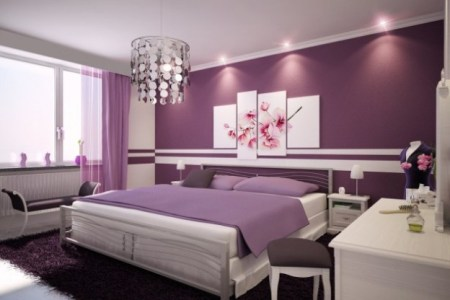bedroom paint color decor ideas | beautiful homes design