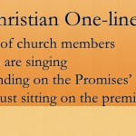 """""""Sitting on the premises"""" - sometimes, it's okay not to serve in church"""