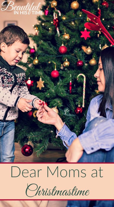 "Dear Moms at Christmastime ~Love, a mom who ""doesn't do Santa"""