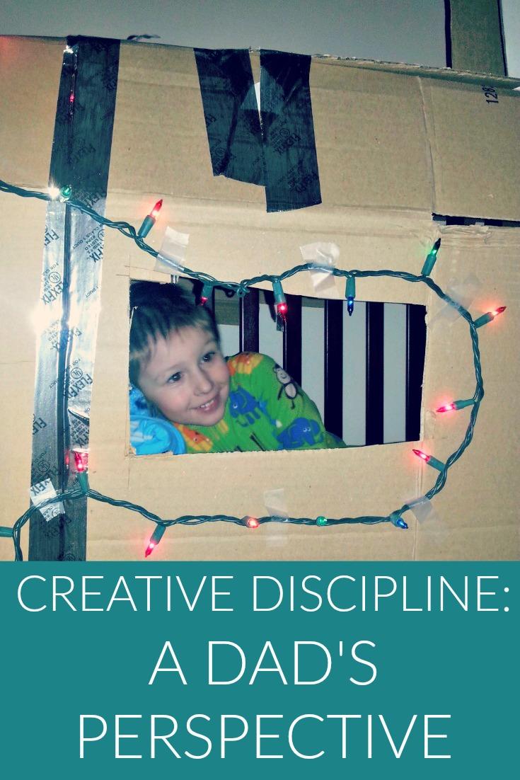 Creative Discipline: A Dad's Perspective