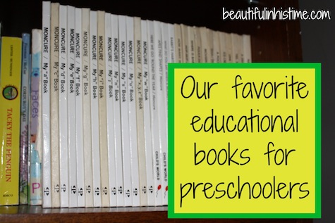 favorite educational books preschoolers