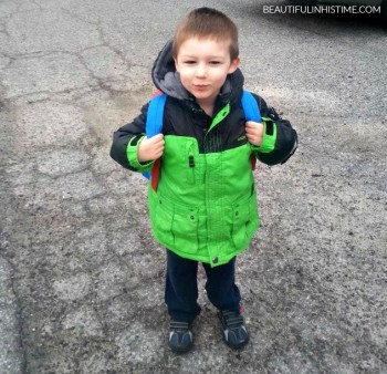 FIRST DAY OF PRESCHOOL 2