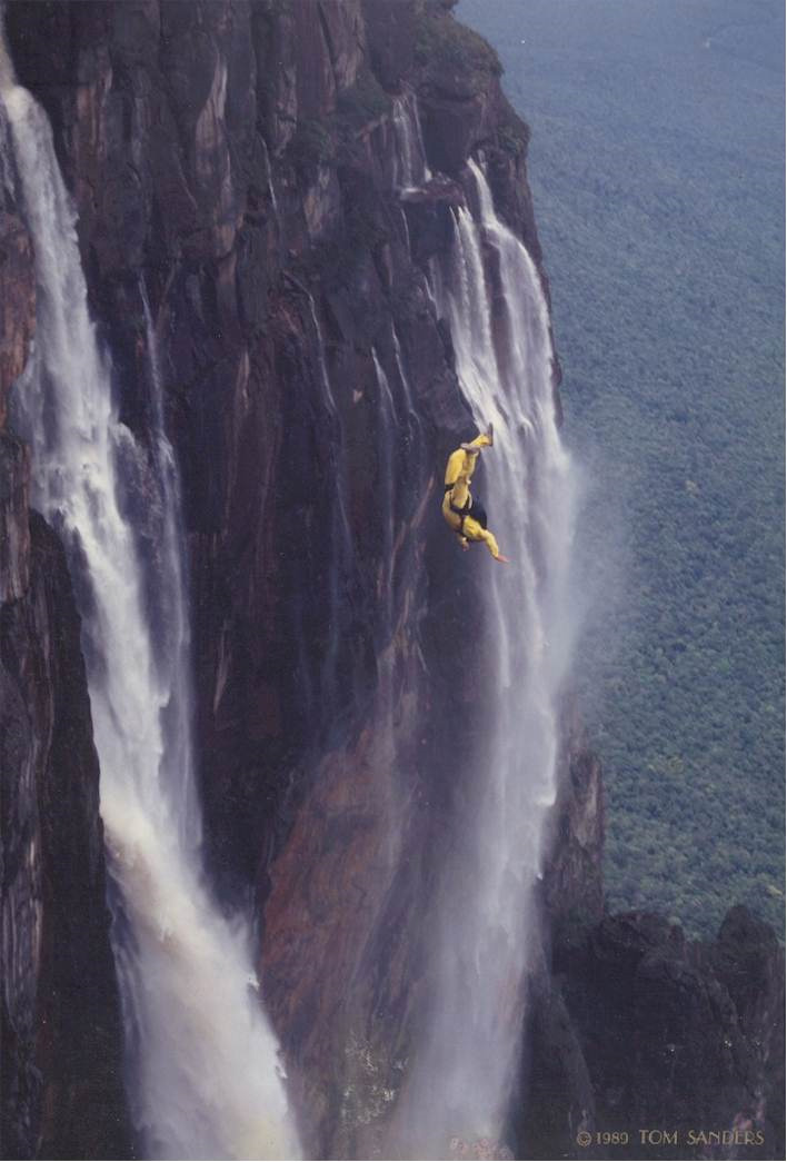 Angel falls venezuela beautiful places to for Waterfall it