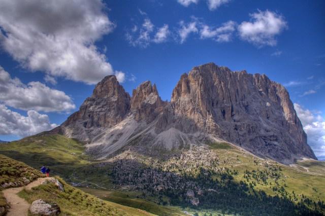 Sassolungo, Dolomites, Italy