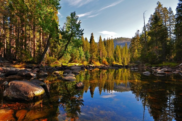 Merced River, Little Yosemite Valley, Yosemite National Park