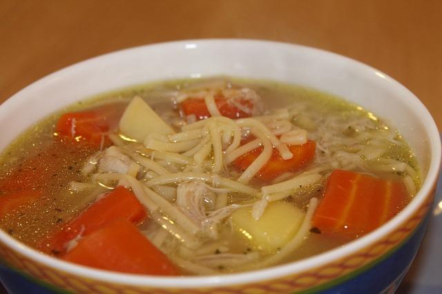 鶏, スープ