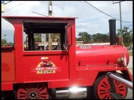 St Augustine Red Train Trolley Tour