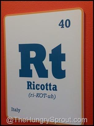 Ricotta- Toasted Orlando