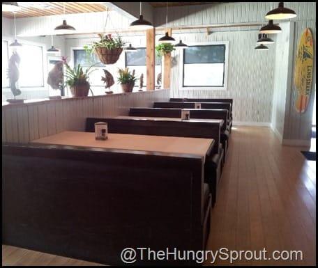 Black Molly dining room