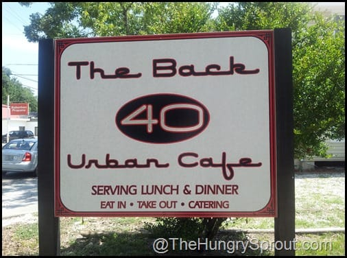 The Back 40 Urban Cafe