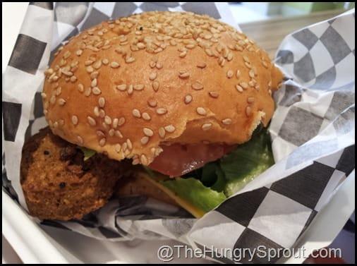 Falafel Burger Crisp New York City