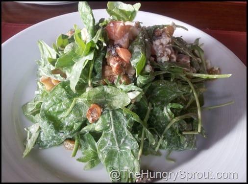 Spinach and Arugula Salad