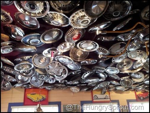 Hubcap ceiling