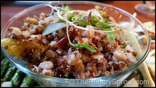 Quinoa Citrus Seasons 52 The Hungry Sprout
