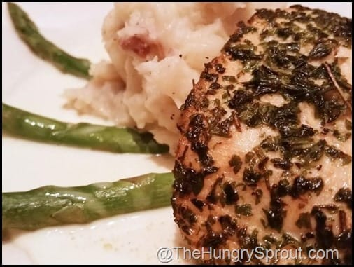 Herb Salmon Lunch Cheesecake Factory The Hungry Sprout