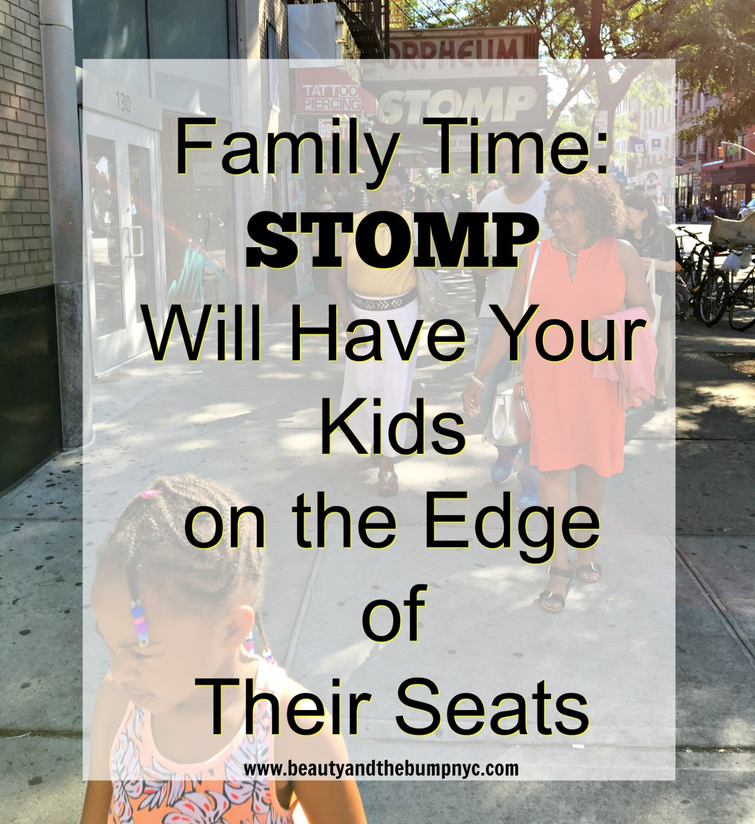 Family Time: STOMP Will Have Your Kids on the Edge of Their Seats